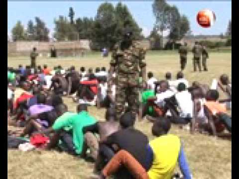 KDF kicks off a country wide recruitment exercise
