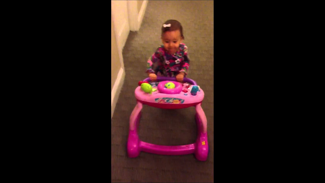 2f38c29e4d45 Baby walker. Going for a walk with a 10 month old - YouTube