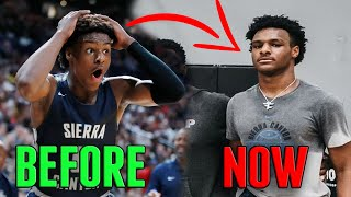 Bronny James has INSANE GROWTH SPURT! TOO MUSCULAR FOR A 16 YEAR OLD? Epic Workout with LeBron