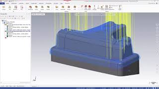 What's New in Mastercam 2019: Projected Boundary Smoothing
