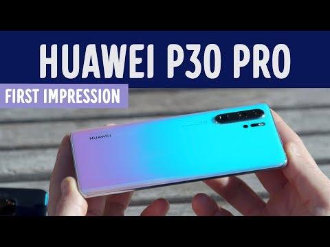 Huawei P30 Pro og Huawei P30 Lite smartphone Elgiganten