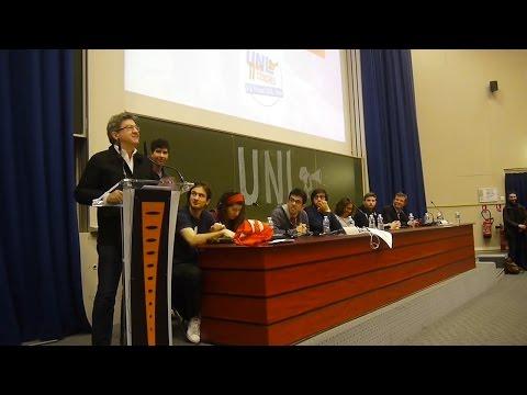 Discours sur l'éducation au congrès de l'UNL | Jean-Luc Mélenchon