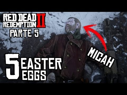 TOP 5 Easter Eggs - Parte 4 - Red Dead Redemption 2 - Jeshua Games thumbnail