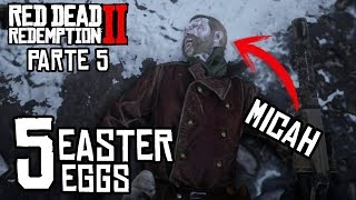 TOP 5 Easter Eggs - Parte 4 - Red Dead Redemption 2 - Jeshua Games