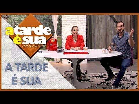 A Tarde é Sua (30/07/18)   Completo