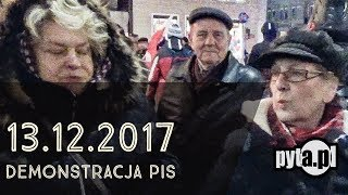 propaganda sukcesu na demonstracji PIS/pyta (fragment)