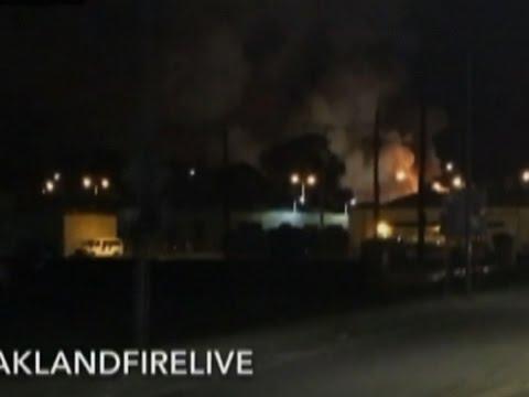 Raw: 9 Dead, 25 Missing in Oakland Fire