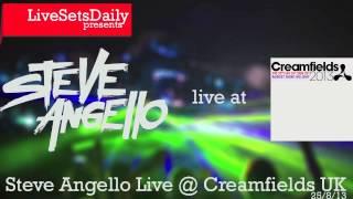 Steve Angello Live @ Creamfields Liverpool 25/8/2013 [HQ]