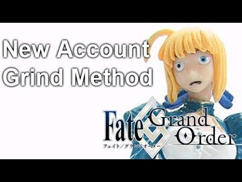 [Fate/Grand Order NA] New Account Level Up Guide