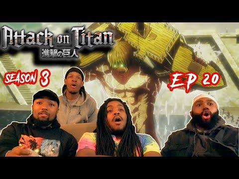 """TRUTH ABOUT THE TITANS FINALLY REVEALED!!! Attack on Titan 3x20 Reaction """"That Day"""""""