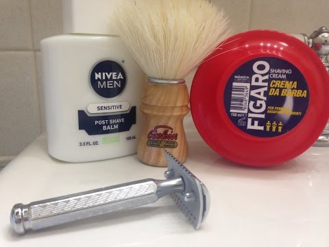 Daily Shave 3-19-15 - Figaro - Merkur 41 Open Comb
