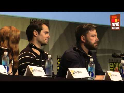 Warner Bros. DC Comics - full panel SDCC 2015 Batman v Superman & Suicide Squad