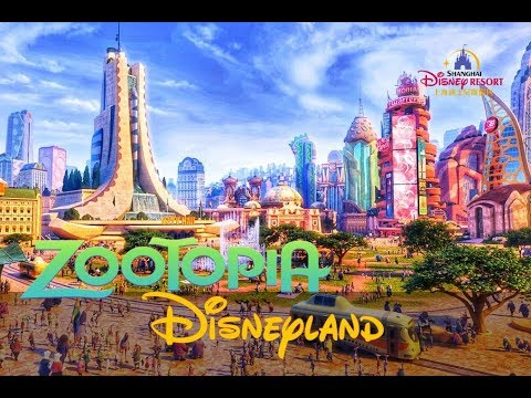 Zootopia Land Officially Coming To Shanghai Disneyland!