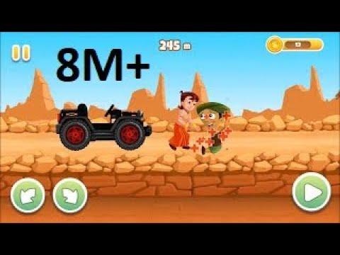 How To Play Chota Bheem Speed Racing Mobile Game | #MIE