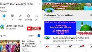 Download lagu Jasne Eid miladun Nabi Ke mauke Par Qari Arif Raza ka Shandar Bayan 2018 full HD 720 PC