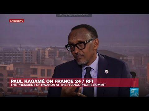 Rwanda's Kagame: Macron has brought 'freshness' to world politics