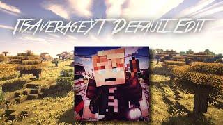 Resourcepack of the Week   ItsAverageYT Default Edit +DOWNLOAD   Tobey   [HD] thumbnail