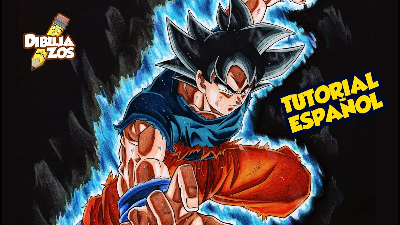 Como Dibujar A Goku Ultra Instinto Migatte No Gokui How To Draw