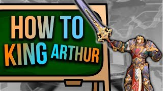 SMITE How To King Arthur!🗡️Mechanics, Combos, Item Interactions!🗡️Everything You Need To Know!