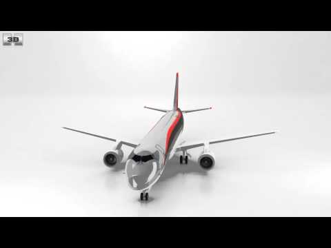 Mitsubishi Regional Jet 90 by 3D model store Humster3D.com