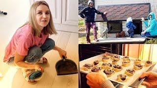 #231 Влог! Любимый рецепт булочек! Готовим с Мамой!