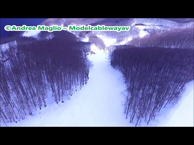 Laceno - Monte Rajamagra visti dal drone