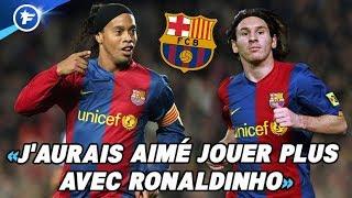 Les révélations de Messi sur ses débuts au Barca avec Ronaldinho | Revue de presse