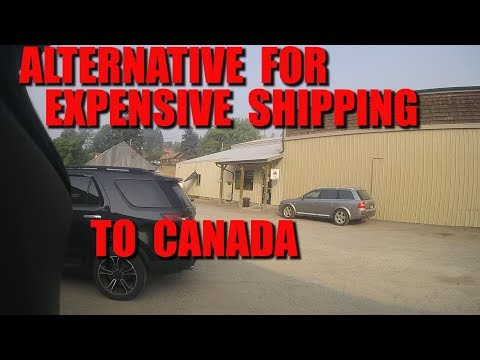 Alternative For Expensive Shipping To Canada