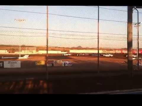 Canyon Speedway Park 5/11/13 Bomber Class Heat Race 1