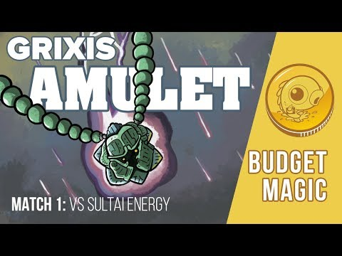 Budget Magic: Grixis Amulet vs Sultai Energy (Match 1)