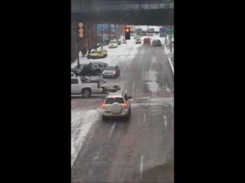 Slippery Lake Avenue in Duluth