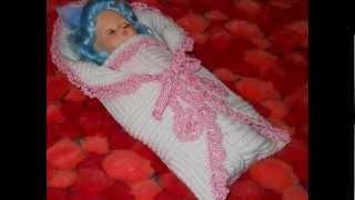 Конверт для новорожденного на выписку из роддома