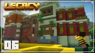 Legacy SMP | More Tuscan City Progress! | Episode 6