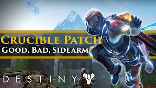 Destiny - The Good, The Bad and the Sidearms. Patch 2.5.0.2 1 week later...