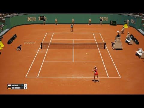Timea Babos vs Julia Görges - AO Tennis PS4 Gameplay