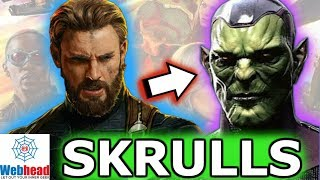 Is Captain America a Skrull In The MCU? MAJOR SPOILERS! | Webhead
