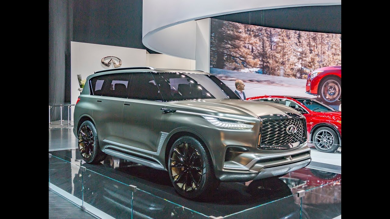 2018 New Cars Coming Out Infiniti Qx80 Monograph