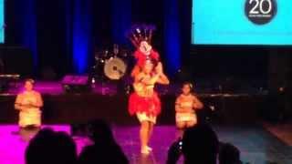 Kids Pacific Dance NZ the Taualuga at Kumon