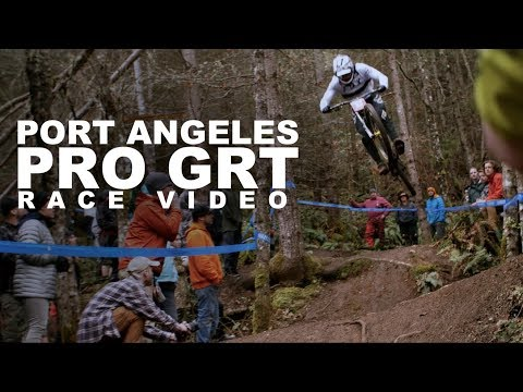 Downhill Race Action - Pro GRT, Port Angeles, Washington
