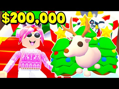 NEW CHRISTMAS ADOPT ME UPDATE! HATCHING 200,000 WORTH OF EGGS! LEGENDARY PET! (Roblox Adopt Me ...