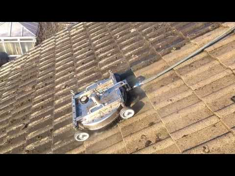 Roof cleaning Robot