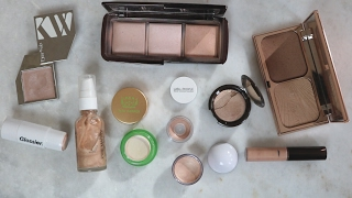 The Line Up // Highlighters [ Powder/Liquid/Cream ] | L
