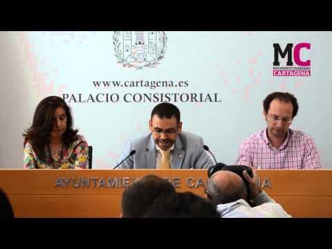 Rueda de Prensa MC Cartagena 28-5-2015