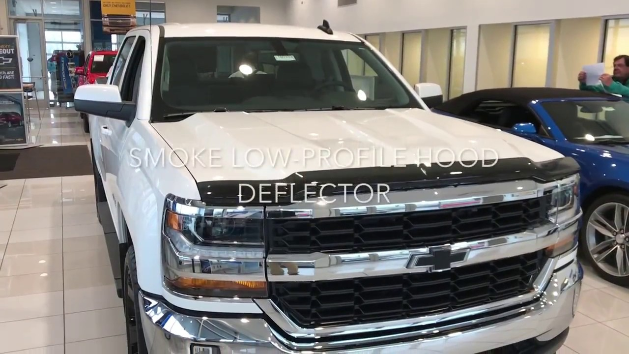 2018 Chevy Silverado Blacked Out Accessories Youtube