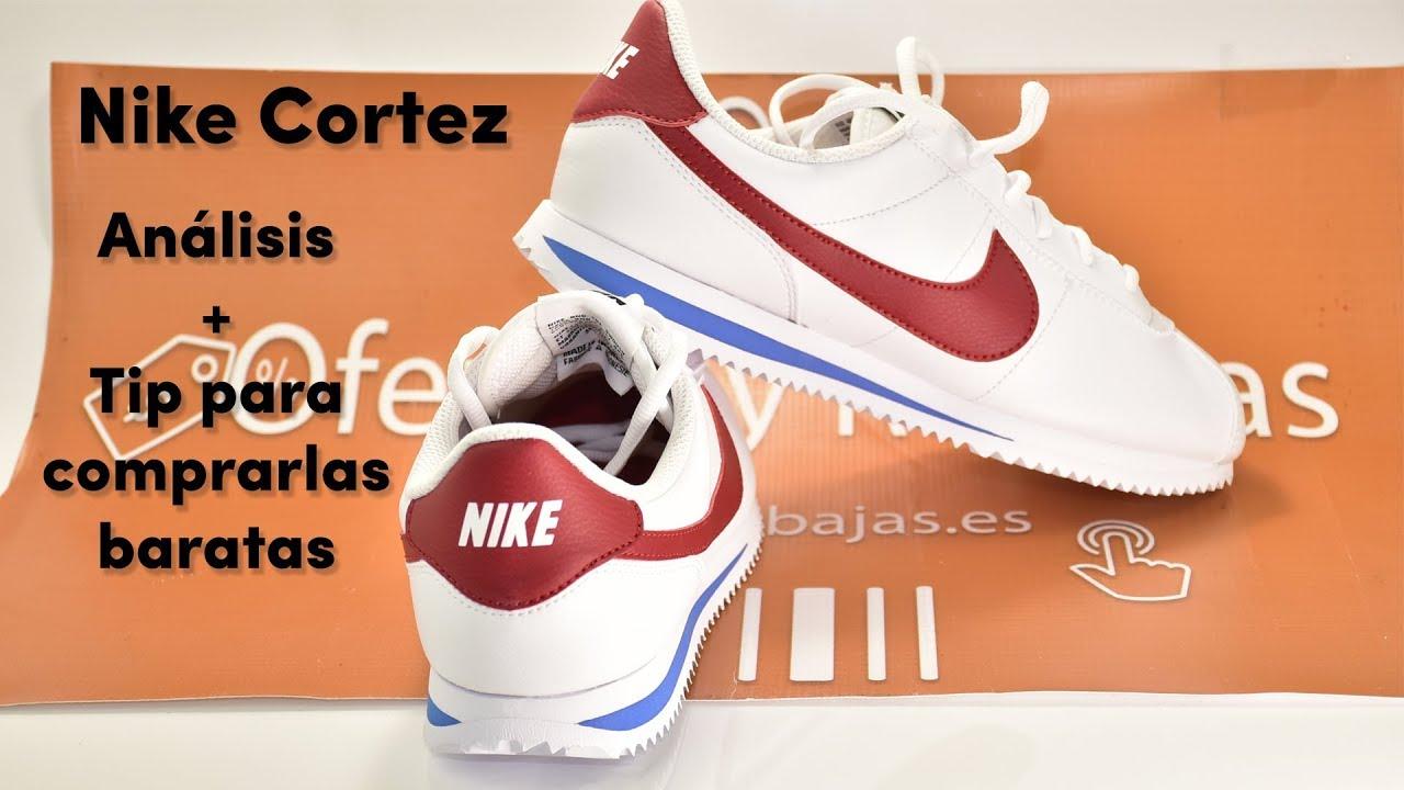 simbólico cocinar una comida ganador  💥【 Análisis Nike Cortez 】💥 Las zapatillas de Forrest Gump y Leonardo  DiCaprio - YouTube