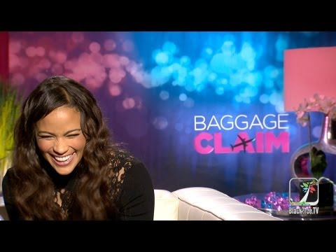 Paula Patton trying to catch Robin Thicke cheating in Baggage Claim