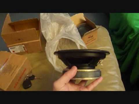 New selenium and dayton audio speakers, unboxing, and testing