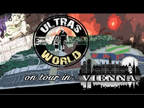 Ultras World on Tour - Rapid Wien vs Austria Wien (23.10.2016)