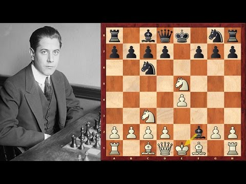 Capablanca's Quickest Victory (9 moves)!