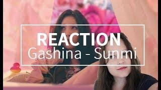 Reaction SUNMI(선미) _ Gashina(가시나) MV